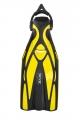 # Seac F1 S - Geräteflosse mit Sling Strap System - Farbe: Gelb - Größe S/M - Abverkauf