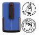 Smart-stamp - Größe: ø 30 mm - blau