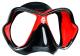 Mares X-Vision Ultra Liquidskin Tauchmaske - Rot Schwarz