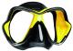 Mares X-Vision Ultra Liquidskin Tauchmaske - Gelb Schwarz