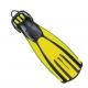 Mares Flossen QUATTRO+ Farbe: gelb - Größe: S