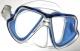 Mares Tauchmaske X-Vision LiquidSkin. blau-transparent