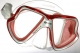 Mares Tauchmaske X-Vision LiquidSkin. rot-transparent