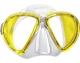 Mares Tauchmaske X-VU LiquidSkin gelb/gelb - Restposten
