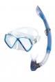 Mares Sharky - Maske-und Schnorchel-Set - Blau