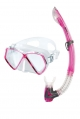 Mares Sharky - Maske-und Schnorchel-Set. Pink