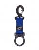 M&M Octopushalter Ring mit Karabiner - Blau