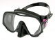 Atomic Aquatics Frameless - Medium Fit - Schwarz - Pink
