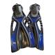 # Delphin Schnorchelflosse - blau - 38-41 - Abverkauf