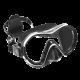 Tauchmaske Reveal X1 - Schwarzes Silicone - Arctic Weiß #