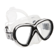 Tauchmaske Reveal X2 - Klares Silicone - Arctic Weiß