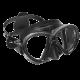 Tauchmaske Reveal X2 - Schwarzes Silicone - Schwarz