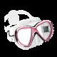 Tauchmaske Reveal X2 - Klares Silicone - Pink