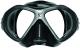 Scubapro Tauchmaske SPECTRA MINI - Silikon: schwarz - Rahmen: silber