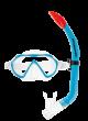 Scubapro Spider Combo Kids - Transparent Blau