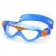 VISTA JUNIOR transparentes Glas blau/orange