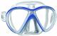 Mares Tauchmaske X-VU sunrise LiquidSkin blau/weiß
