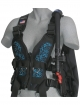 Zeagle Wingjacket Zena - Frontteil - Floral Blue - Gr: XS