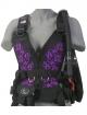 Zeagle Wingjacket Zena - Frontteil - Floral Purple - Gr: XS