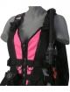 Zeagle Wingjacket Zena - Frontteil - Neon Pink - Gr: XS