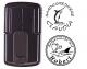 Smart-stamp - Größe: ø 24 mm - schwarz
