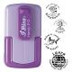 Smart-stamp - Größe: ø 24 mm - lavendel