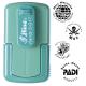 Smart-stamp - Größe: ø 17 mm - spring green