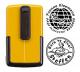 Smart-stamp - Größe: ø 30 mm - gelb