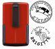 Smart-stamp - Größe: ø 30 mm - rot