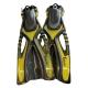 # Delphin Schnorchelflosse - gelb - 38-41 - Abverkauf