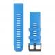 Garmin - Quickfit 26 Watch Band - Uhrenarmband - Descent MK1 - Cyan Blue Silicone