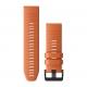 Garmin - Quickfit 26 Watch Band - Uhrenarmband - Descent MK1 - Ember Orange Silicone
