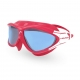 Head Kinderschwimmbrille Rebel JR - rot/blau getönt