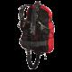 Hollis - Sidemount Tarierjacket SMS 100 - komplett mit Doppelblase - Gr: S/M