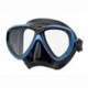 Tusa Tauchmaske M-211 Freedom One Schwarz Blau