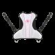 Aqualung - Rogue Rückenplatte - Weiß Pink - Gr: S