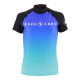 # Aqualung Rashguard Damen (2018) - Kurzarm - Black Frozen Blue - Gr: XL