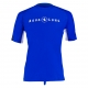 Aqualung Rash Guard Loose Fit - Short Sleeve - Blau - Herren - Gr. L