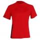 Aqualung Rashguard XSCAPE Red Short Sleeve - Herren - Gr. S