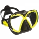 Aqualung Mission Maske - hot lime