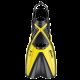 Mares Schnorchelflosse X-One - Gelb - Gr: SM (35-38)