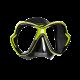 Mares Tauchmaske X-Vision - Schwarz Lime
