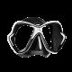 Mares Tauchmaske X-Vision - Schwarz Weiß