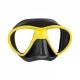 Mares Maske X-Free - gelb/schwarz