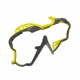 Mares Pure Wire Color Frame - Wechselrahmen - Gelb