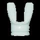 Mares jAX Mundstück - einzeln - Weiß