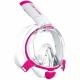Mares Sea VU Dry+ - Schnorchelmaske - Gr. S-M - pink/white