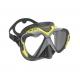Mares X-Wire Tauchmaske - gelb/schwarz §