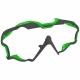 Mares Wire Color Frames - Maskenwechselrahmen - grau/grün