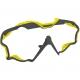 Mares Wire Color Frames - Maskenwechselrahmen - grau/gelb